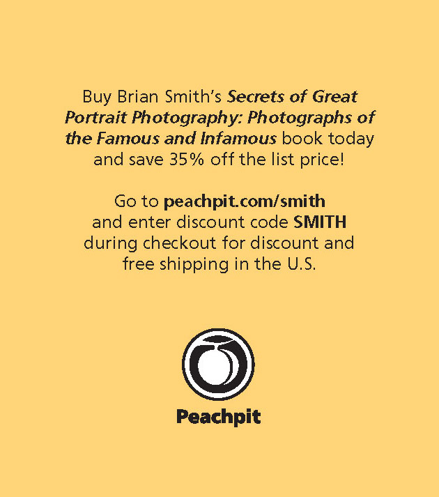 Secrets of Great Portrait Photography discount from Peachpit
