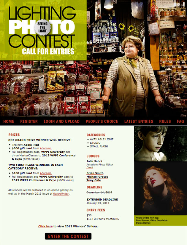 Photography Lighting Competition
