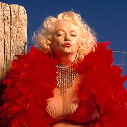 burlesque photography portraits of legends of burlesque