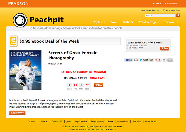Secrets of Great Portrait Photography eBook Deal