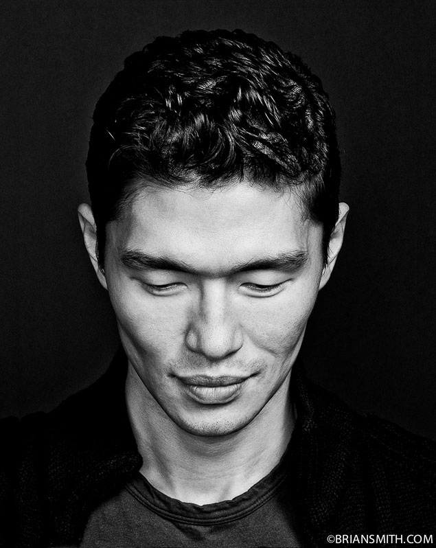 Celebrity portrait of actor Rick Yune photographed with Sony CZ 135 1.8