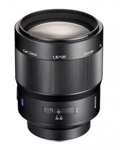 Sony CZ 135mm 1.8 lens