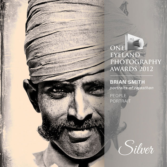 Brian Smith wins One Eyeland Award for Portrait Photography