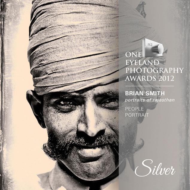 Brian Smith wins One Eyeland Award for Portrait Photography