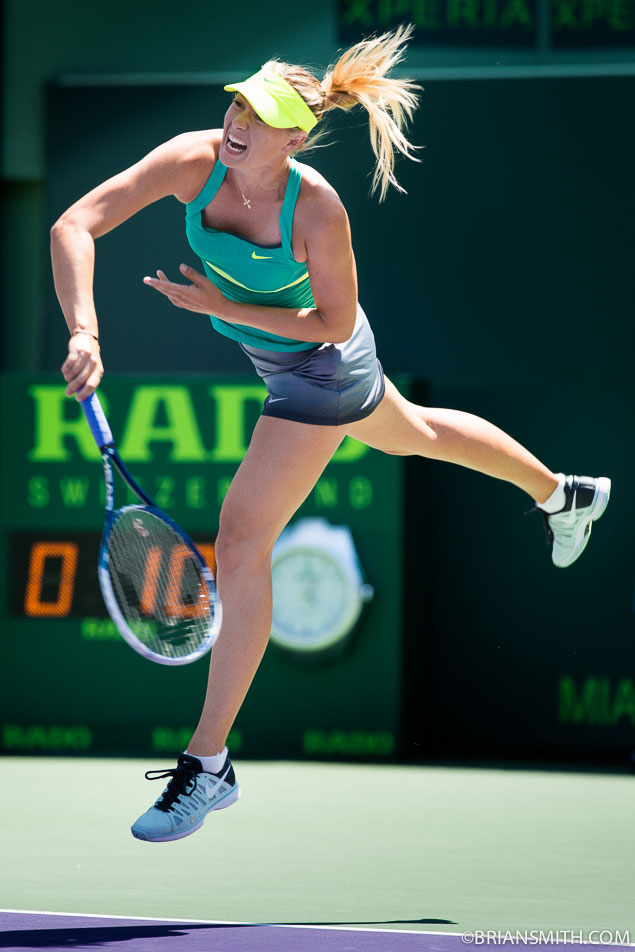 Maria Sharapova at Sony Open Tennis