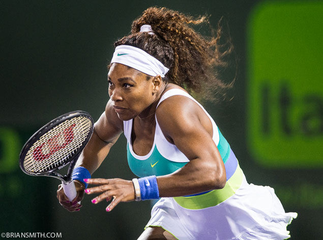 Serena Williams at Sony Open Tennis 2013
