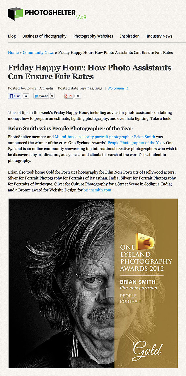Brian Smith wins People photographer of the Year