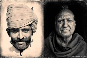 Photographers in Miami photographs portraits of Rajasthan