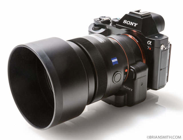 Sony A7r with LA-ea4 lens adapter an 85/1.4 ZA kens