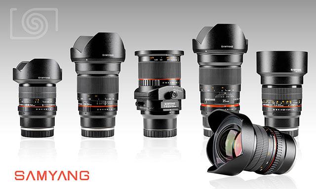 Samyang Rokinon lenses for Sony FE