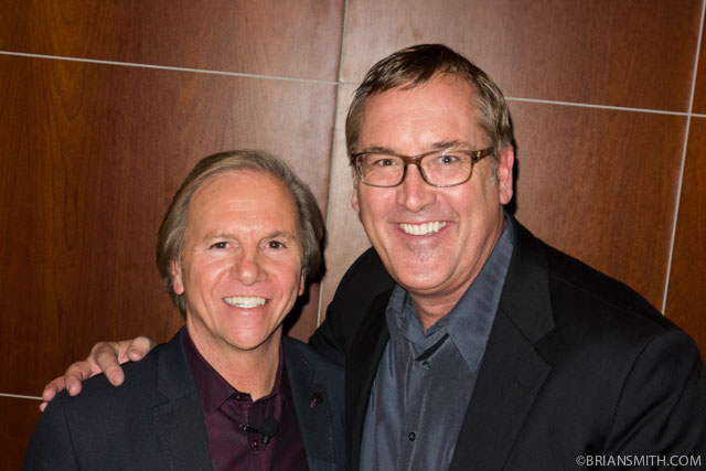 Sony Electronics President Mike Fasulo with Sony Artisan Brian Smith