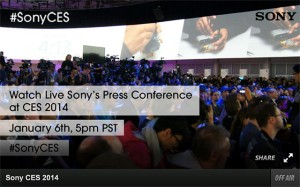 Brian Smith speaks at Sony CES press conference