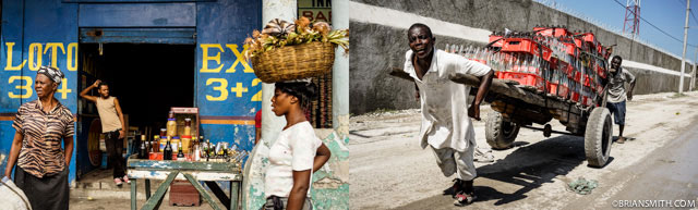Sony A7R in Haiti