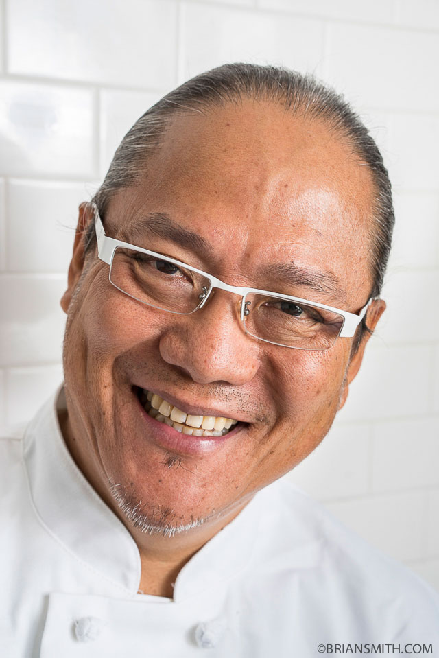 miami celebrity portrait photography of Iron Chef Morimoto