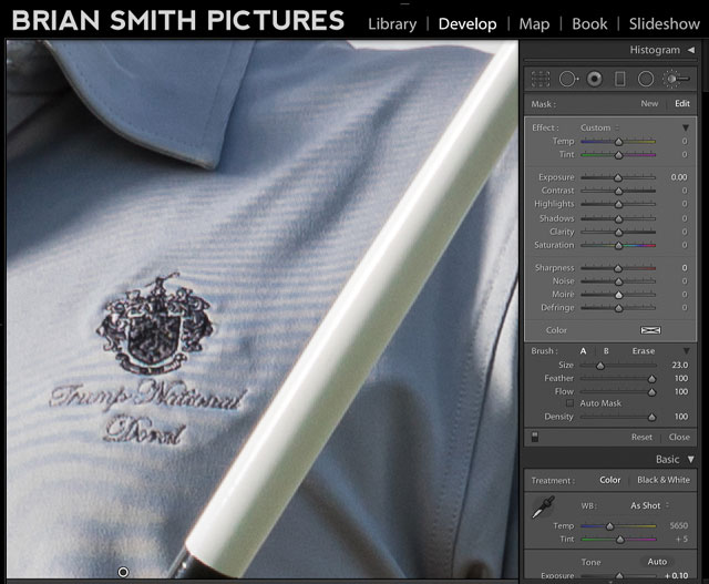 how to remove moire using lightroom moire brush