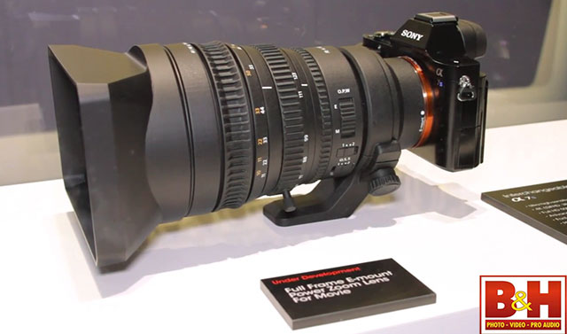First Look Sony Fe 28 135 F4 Power Zoom Lens