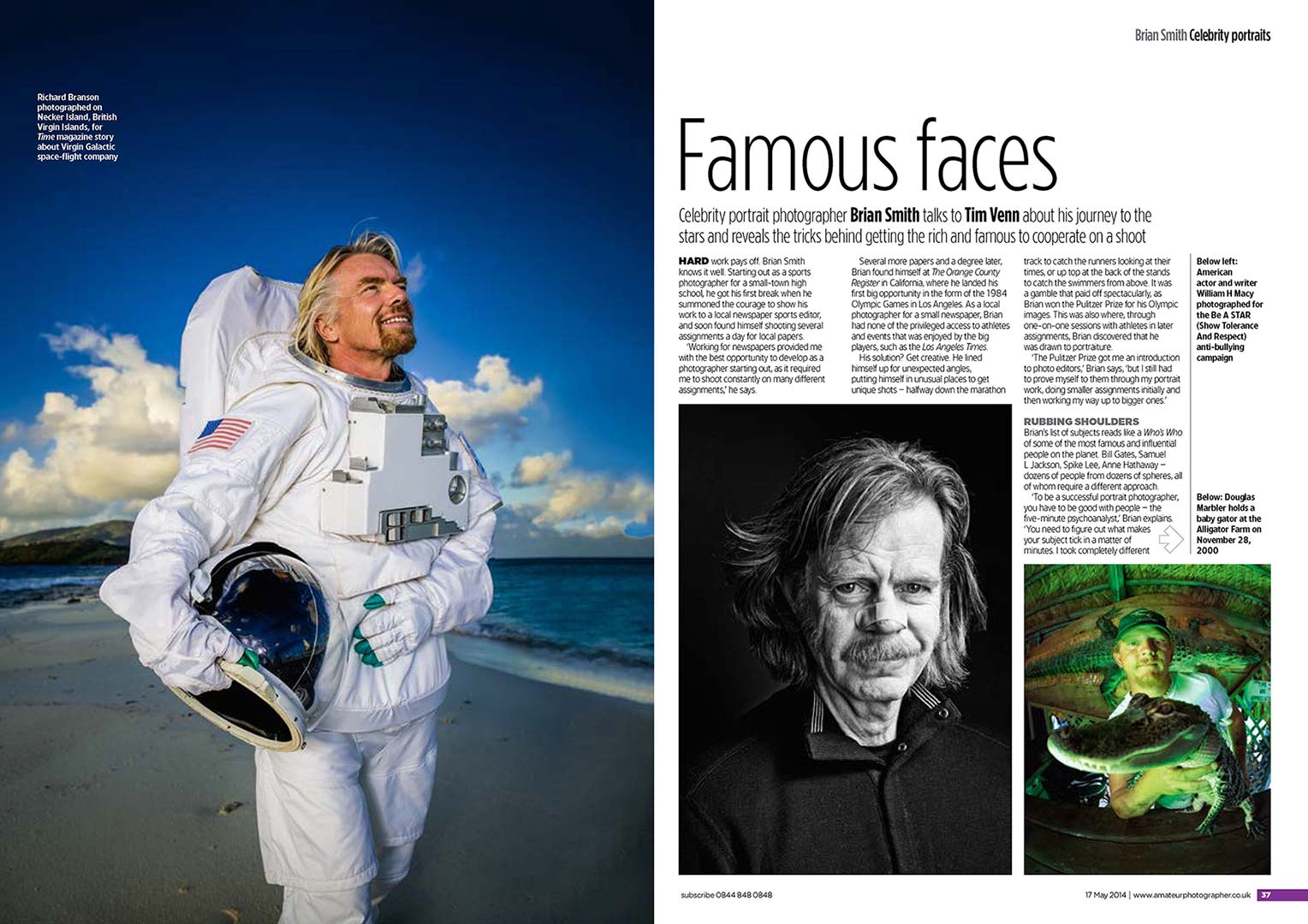 PRESS | Miami Celebrity Portrait Photographer Brian Smith