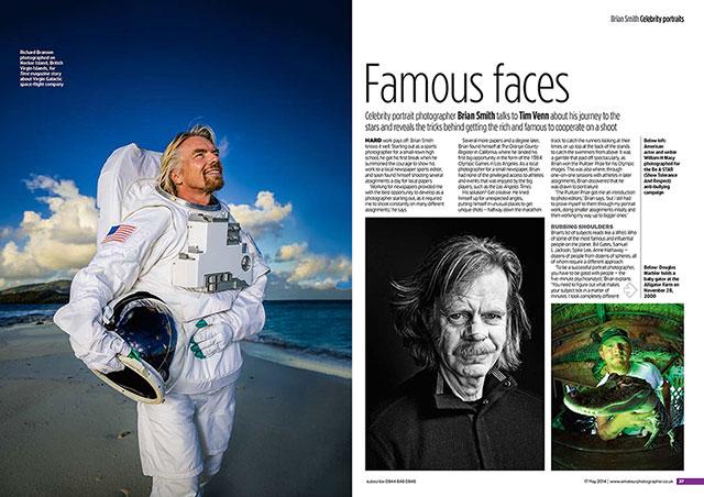 Miami celebrity portrait photographer Brian Smith talks portraits
