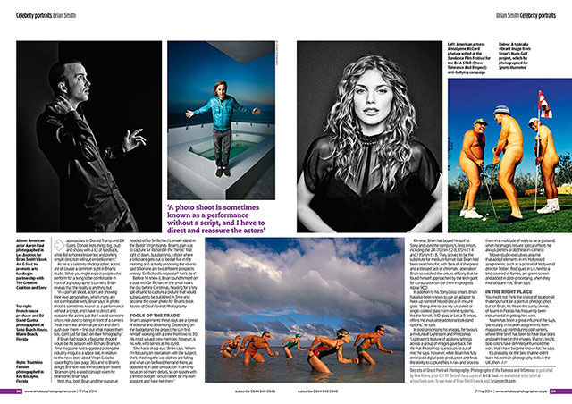 Miami celebrity portrait photographer Brian Smith talks portrait photography