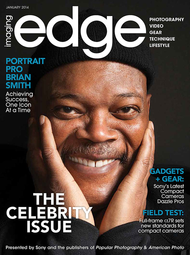 celebrity portrait photography imaging edge cover story