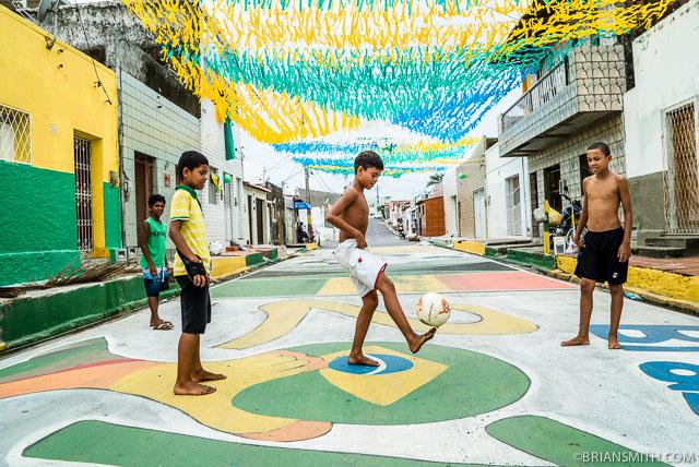 Soccer in Natal, Brazil