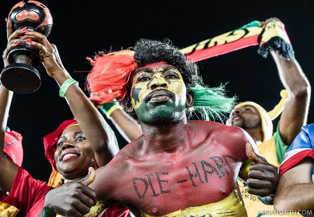 World Cup Ghana fan in Brazil