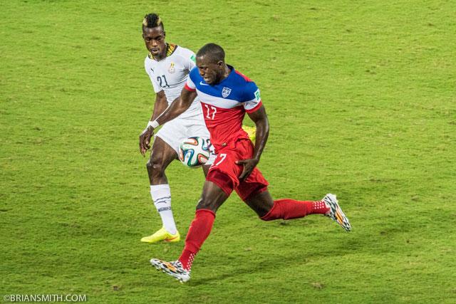 USA-Ghana Match in Natal, Brazil