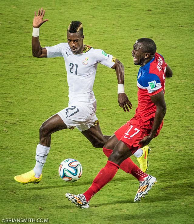 Sony A77II Jozy Altidore pulls a hamstring in USA Ghana Match