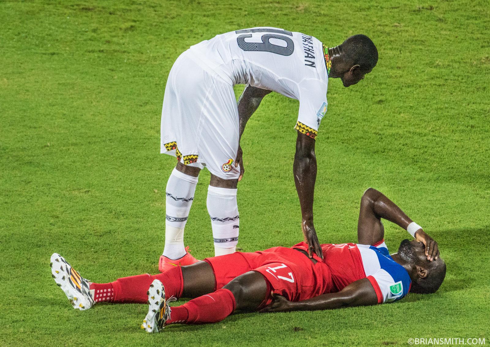 USA-Ghana World Cup Soccer Match in Natal, Brazil