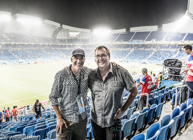 Sony Artisans David McLain and Brian Smith at FIFA World Cup