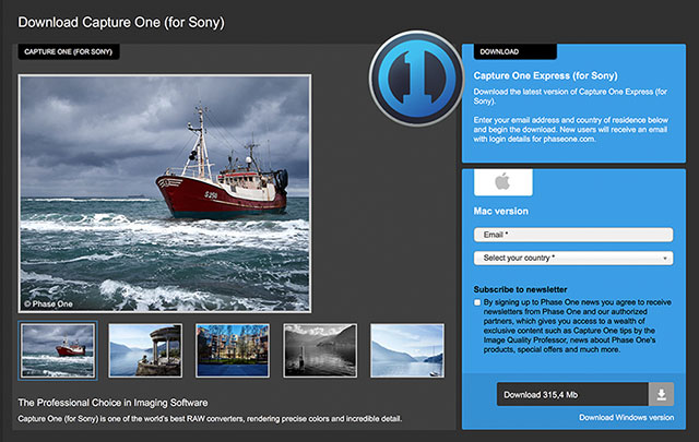 Capture One Adds Sony Tethering Support