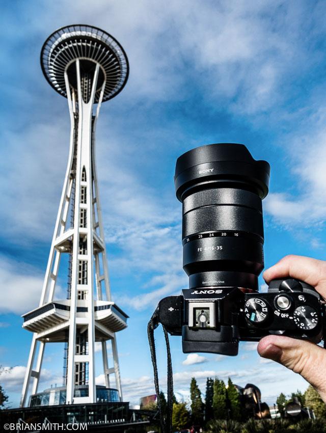 Sony FE 16-35mm ZA lens