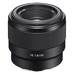 Sony-FE-50mm-F1-8-lens