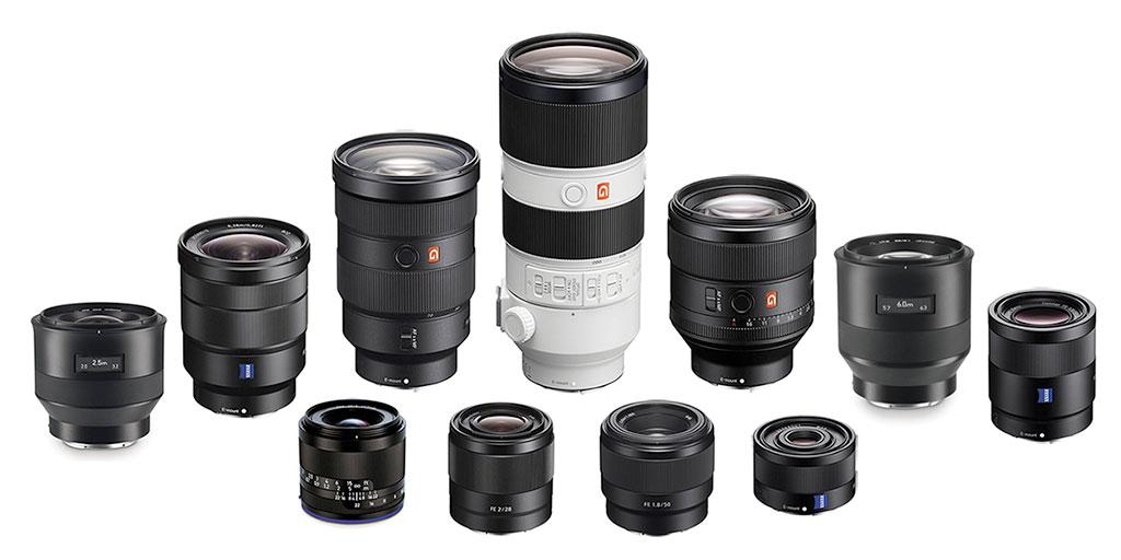 Best Fullframe E-mount FE Lenses for Sony Mirrorless Cameras