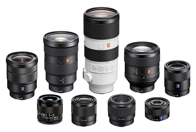 Best Fullframe E-mount FE Lenses for Sony Mirrorless Cameras