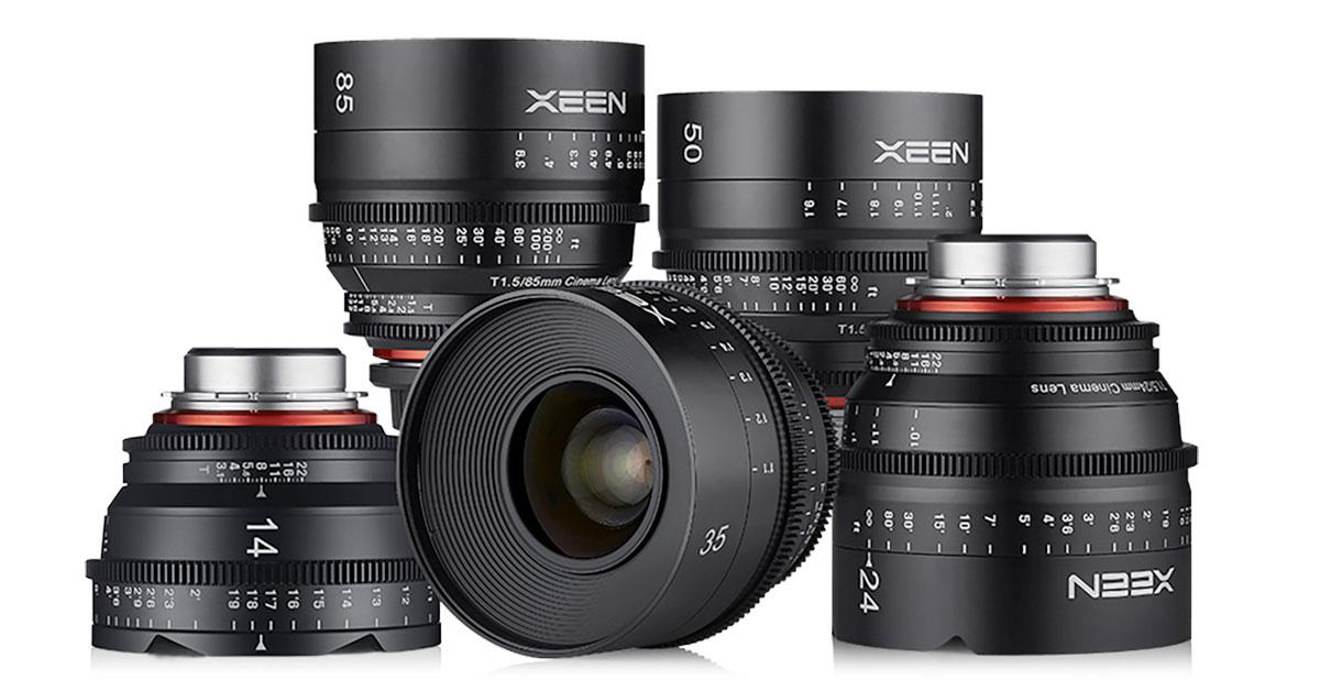 Rokinon Xeen Cine Lenses