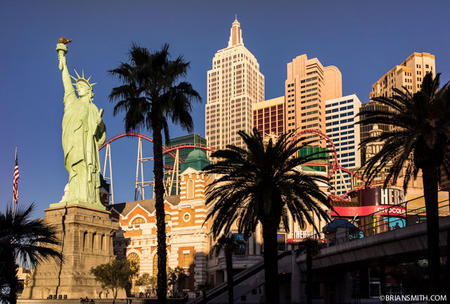 New York, New York - Las Vegas shot with Sony A7R and Zess Loxia