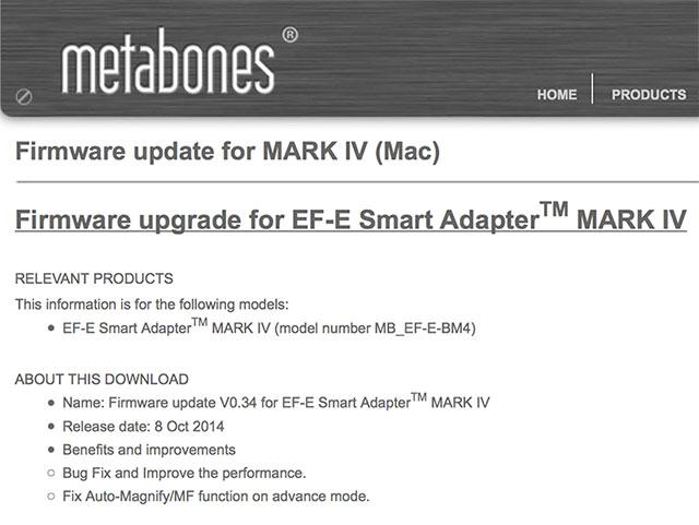 Metabones-smartadapter-IV-firmware-0-34