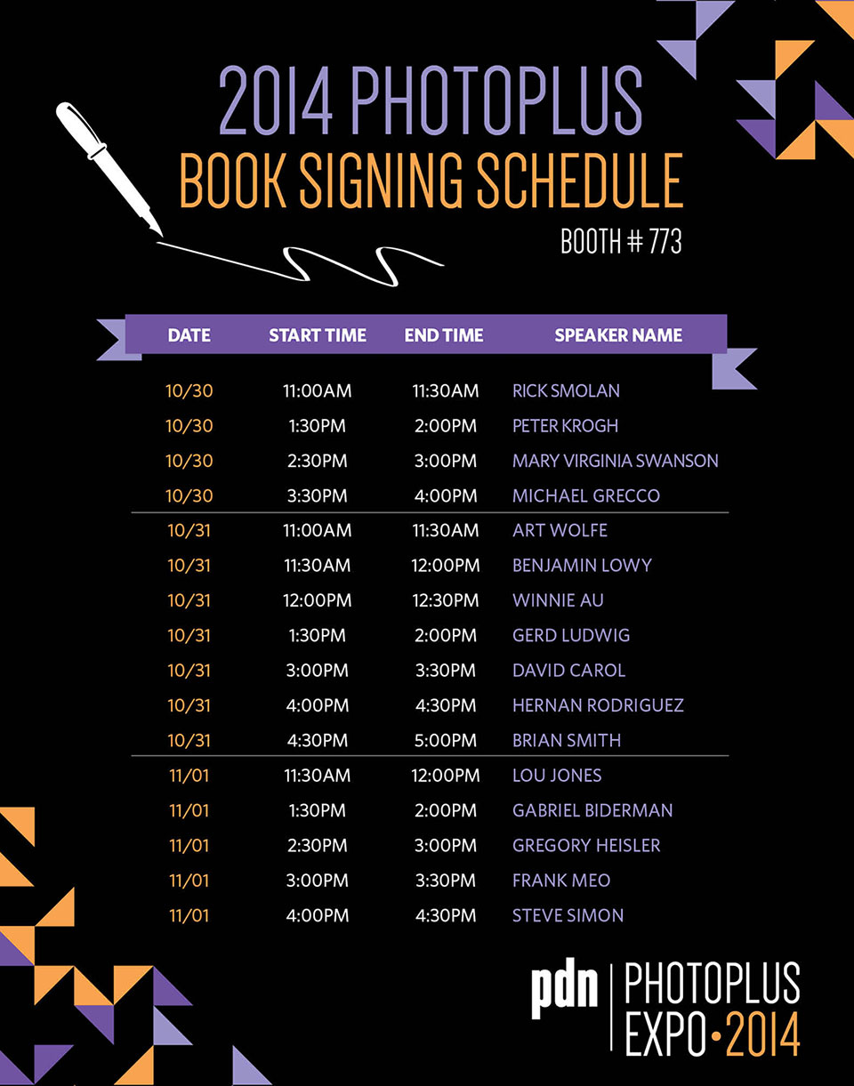 PhotoPlus-Expo-Book-Signing