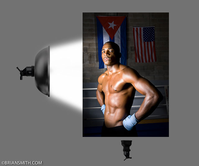 Cuban boxer Erislandy Lara