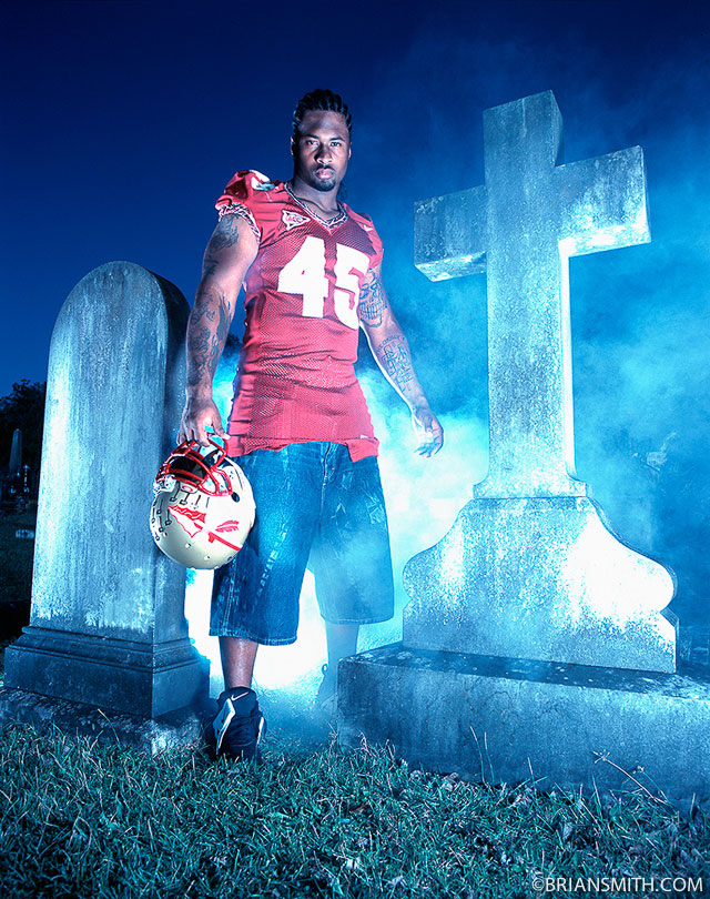 Darnell Dockett for Sports Illustrated