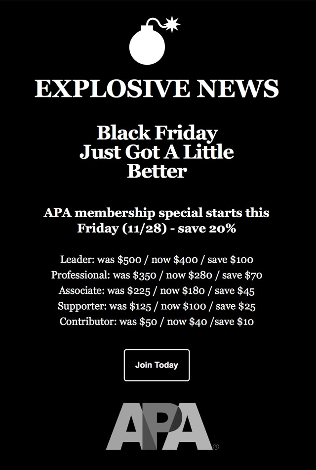 APA-american-Photographic-Artists-Black-Friday-membership-sale