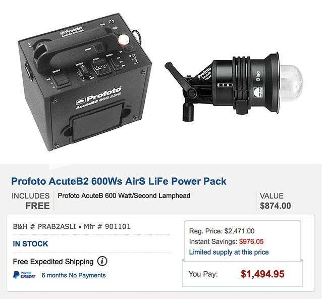 Profoto-Acute-B2-Deal