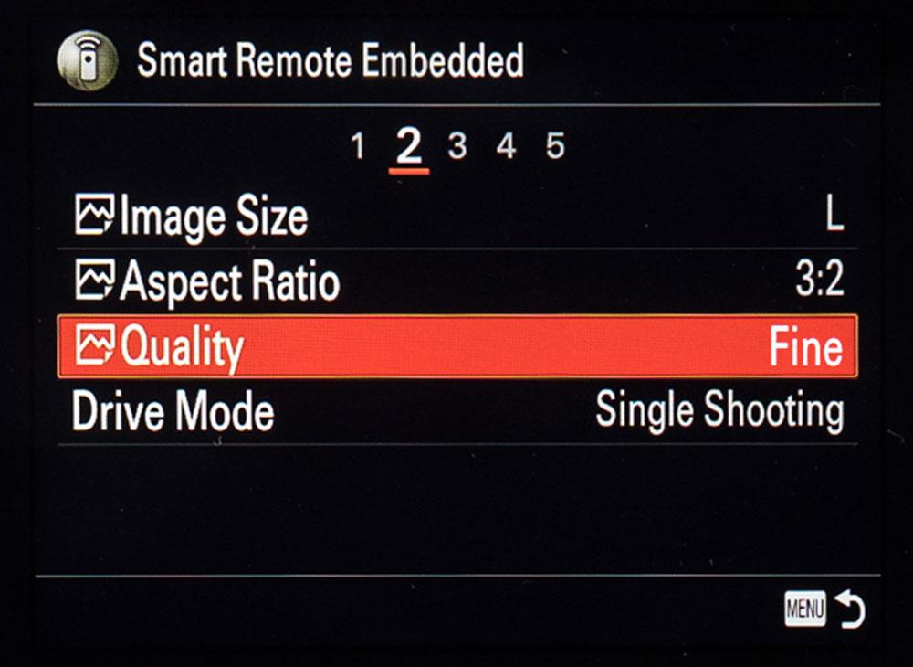 Sony Remote Camera Control Fine