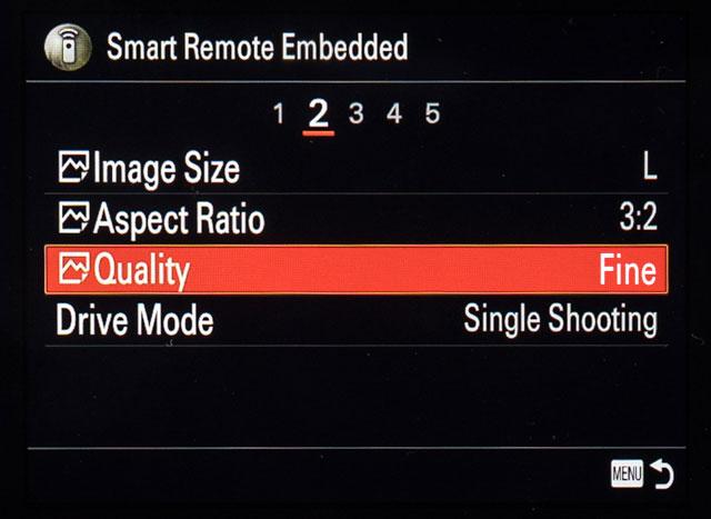 Sony Remote Camera Control