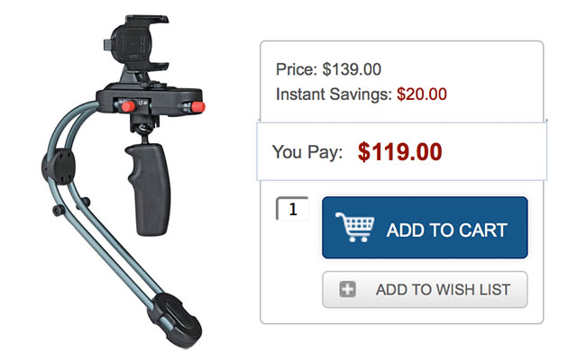 Steadycam-Smoothee-Deal
