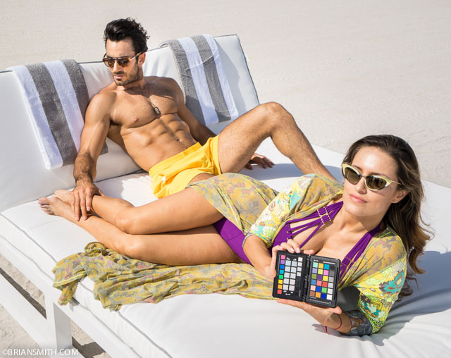 Lola Ponce and Aaron Diaz photographed at the Shelbourne Hotel