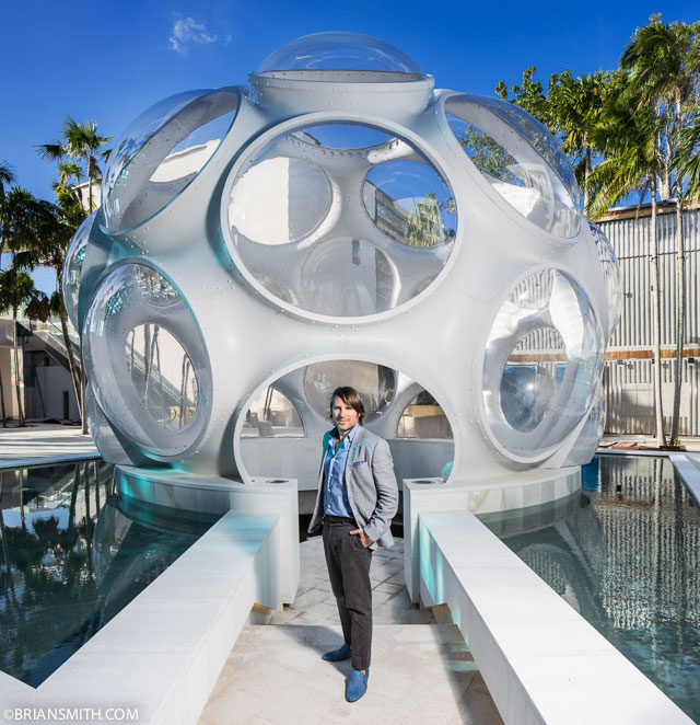 Rodman Primack, executive director of Design Miami, photographed
