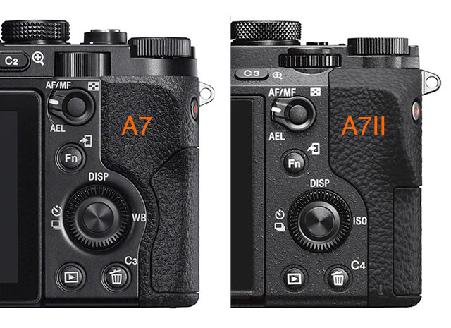 Sony-A7-A7II-Rear-Controls