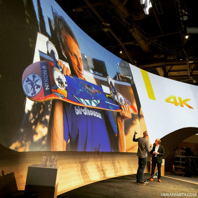 Tony Hawk at CES 2015